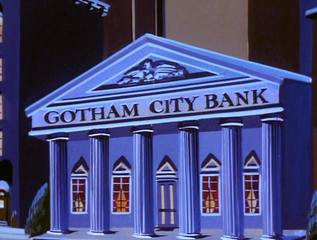 Gotham City Bank Superfriends Wiki Fandom Powered By Wikia