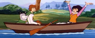 G.E.E.C. operated rowboat