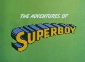 Superboy Title Card