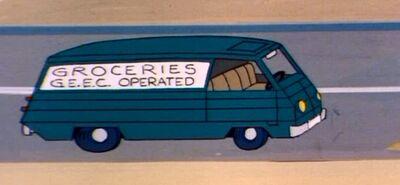 Geec grocery van