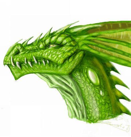 File:Green Dragon by LordHannu.jpg