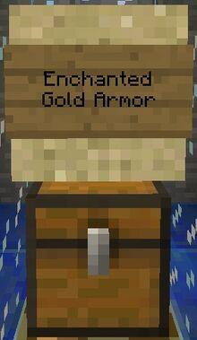 Enchanted Gold Armor