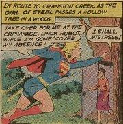 Supergirl robot