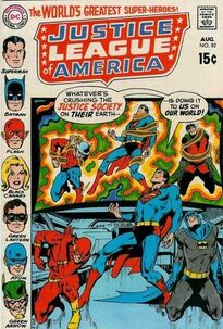 Justice League of America Vol 1 82