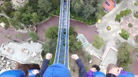 Superman Escape from Krypton (HD POV) Six Flags Magic Mountain-0