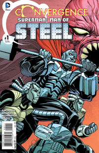 Convergence Superman The Man of Steel Vol 1 1