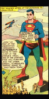 Superboystatue