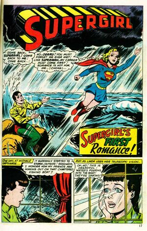 Supergirls First Romance