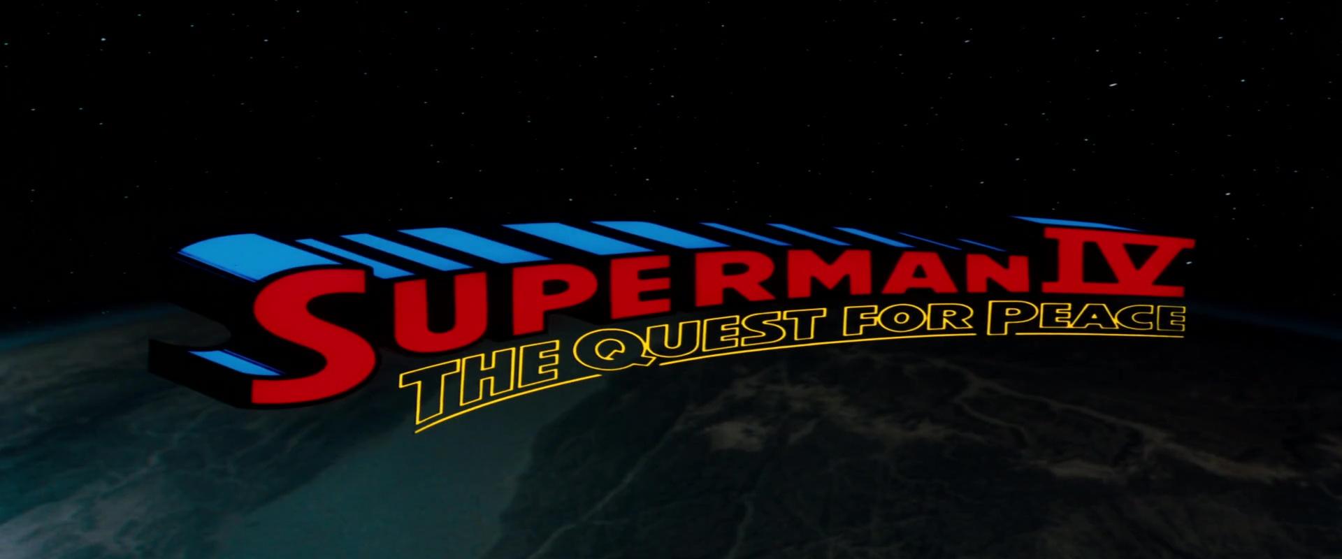 Superman Iv The Quest For Peace Superman Wiki Fandom