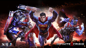 Infinite Crisis video game superman