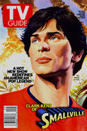 TvGuide Smallville-Ross cover 1 Clark Kent