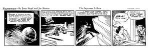 Superman strip January 16 1939