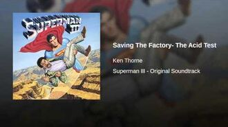 Saving The Factory- The Acid Test