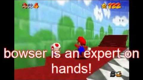 Super mario 64 blooper Have you seen this polygon?