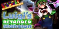 Super Mario 64 Halloween 2013: Luigi's Retarded Mansion