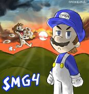 Smg4 and mario by greenguycl-db0vu49