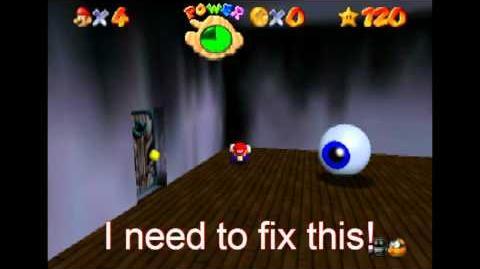 Super Mario 64 Blooper Time Freeze