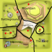 SM64 Bob-omb Battlefield Red Coins Map