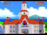 Peach's Castle Fly