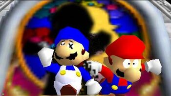 Super mario 64 bloopers The Visitor