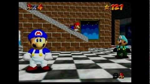 Super mario 64 bloopers HALL 9000