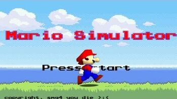 Retarded64 Mario Simulator