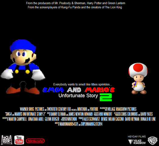 File:SMG4 and Mario's Unfortunate Story 2 (2019) Poster.PNG