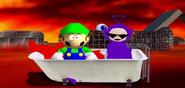 Luigi & tubbeh
