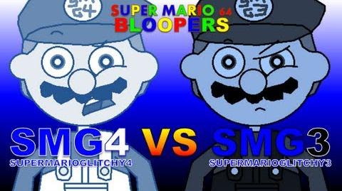 Super mario 64 bloopers smg4 VS smg3