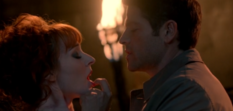 Lucifer congratulates Rowena (The Devil in the Details) -1-