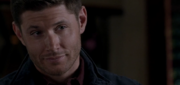 Dean displayed a casual demeanor even while confronting an insulted Crowley 1
