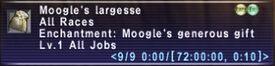 Moogle Largesse