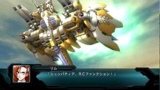 The 2nd Super Robot Wars OG - Dea Blanche Niege All Attacks