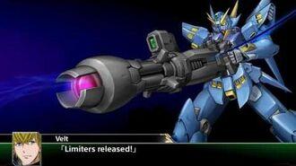 Super Robot Taisen V(ENG) Huckebein All attacks