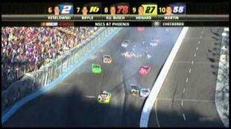 11 11 2012 Harvick Wins at Phoenix Green White Checker