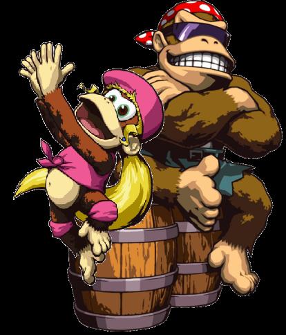 Smash Bros. Mania/Funky and Dixie Kong | Super Smash Bros ...