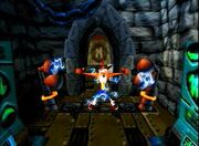 Crash in Cortex castle