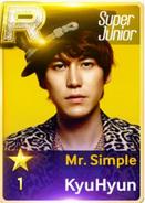 MR Simple Kyuhyun