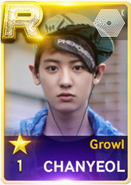 Growl Chanyeol
