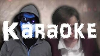 KARAOKE R.L. Stine vs MrCreepypasta. SuperThingsOnCups Rap Battles-0