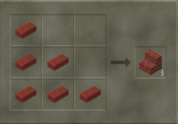 Brick Stairs craft