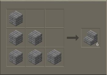 Stone Brick Stairs craft