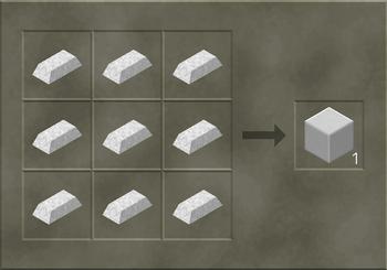 Solid Iron Block craft