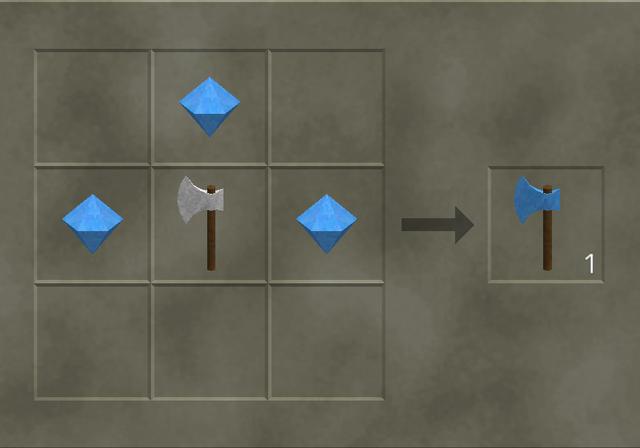 File:Diamond Edge Axe craft.png