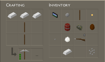 Crafting Table UI