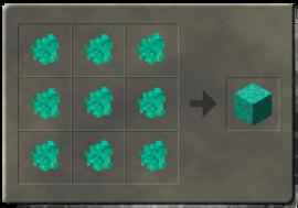 Craftmalachiteblock