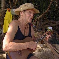 Sonja and her ukulele.