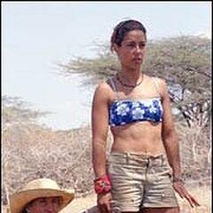 Kim at Samburu.