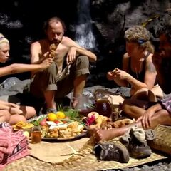 The winners enjoying reward.