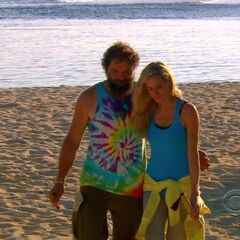 Candice and Rupert sent to the Redemption Island.